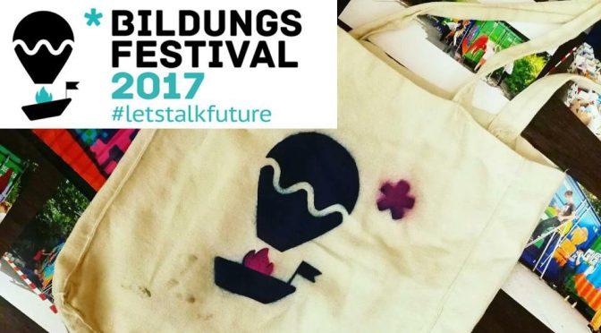 Besuch beim Bildungsfestival 2017