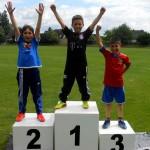 Sport_Beitrag_Wettkämpfe - Buju Staw 2014 Etror, Sajad und Xhivit aus der 3b