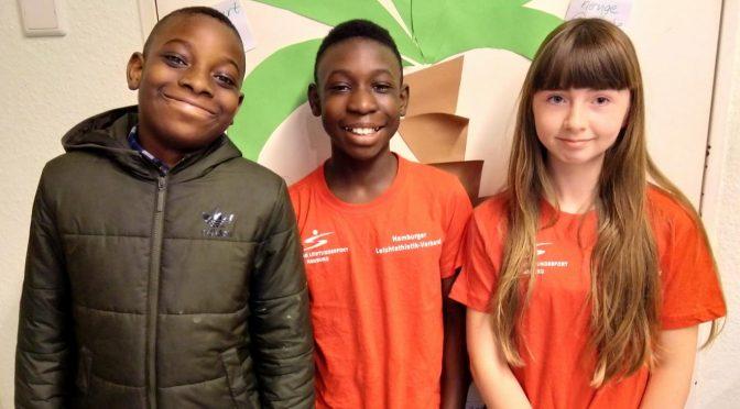Hamburgs zweitschnellster Schüler kommt von der Brüder-Grimm-Schule